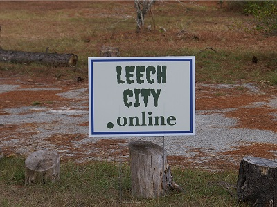 Leech City Yard Sign